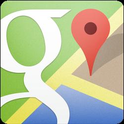 中目黒の盆栽店グリーンスケープの地図